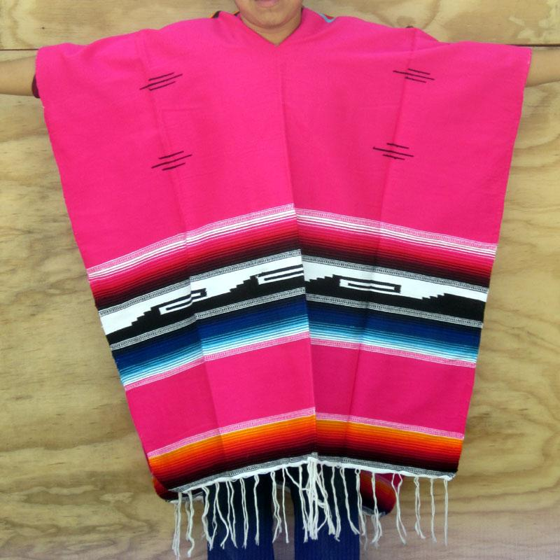 Mexicansk Pink Poncho